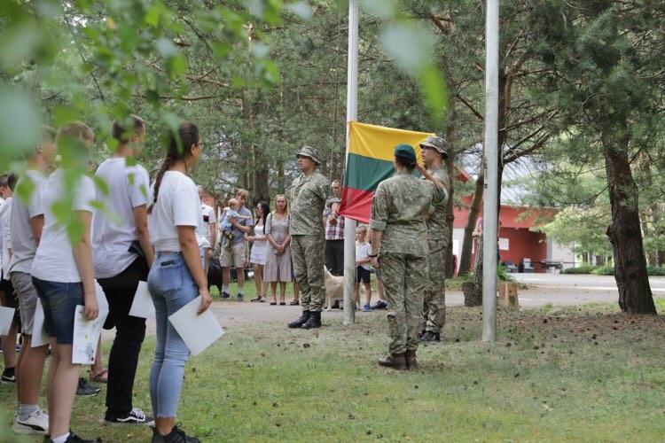 Pilietiškumo ir patriotiškumo ugdymo stovykla MES-LIETUVAI