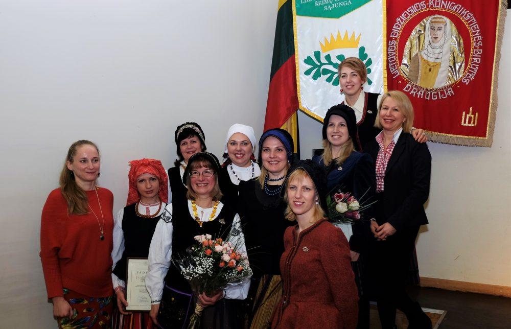 Birutietės - Lietuvos didžiosios kunigaikštienės Birutės karininkų šeimų moterų sąjunga